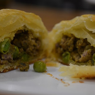 Beef Samosa Puff Pastries Recipe