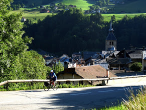 Photo: la route s'élève