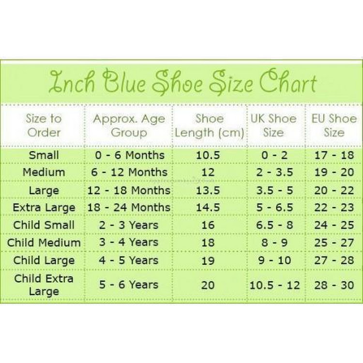 Inch Blue Soft Sole Leather Shoes - Ellie & Baby Blue (18-24 months)