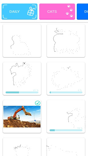 Dotly- connect dot to dot, free waiting room games modavailable screenshots 8