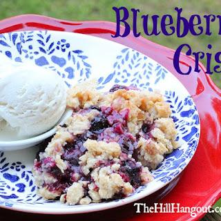 Blueberry Crisp