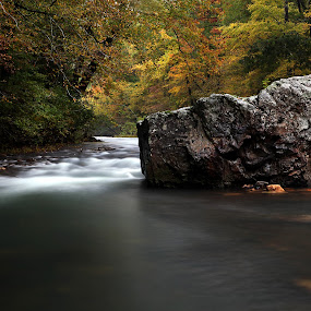 Fall in the Ouachitas by William Rainey  - Landscapes Waterscapes ( backpacking, national river, canoing, cossatot river state park, photography, hiking )