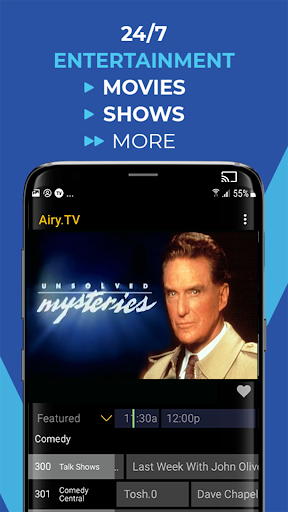 Airy - Stream Free TV Shows & Movies, and More! 2.4.0gcR screenshots 4