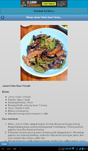 玩免費書籍APP|下載Kumpulan Resep Makanan Jamur app不用錢|硬是要APP