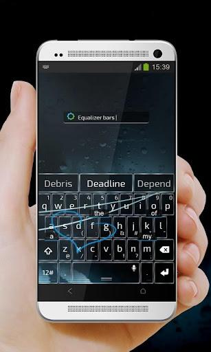 【免費個人化App】白色電線 TouchPal 主題-APP點子