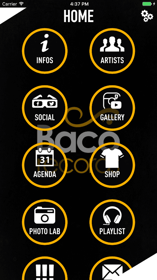 BACO RECORDS- screenshot