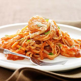 Garlic-Shrimp Linguine