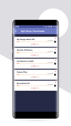 Mp3 Music Downloader - Unlimited Music Player screenshot