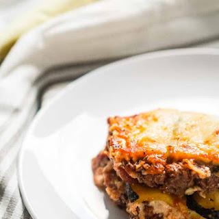 Keto Lasagna with Zucchini Noodles [Recipe]