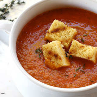 Dairy-Free Roasted Tomato Soup