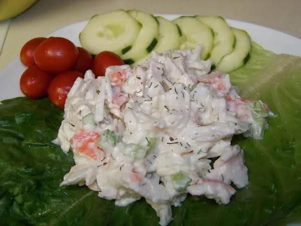 Creamy Crab Salad Recipe