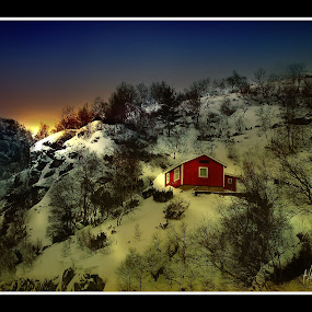 by Teddy Tavares - Landscapes Weather ( pwcwinter, winter, nikon d40, rogaland, norway )