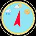 Digital barometer Icon