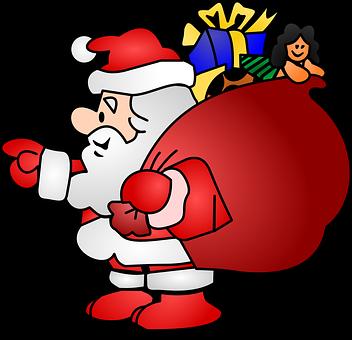 Santa, Mann, Noel, Santa Claus