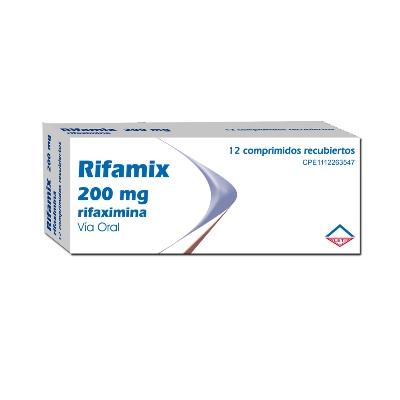 Rifaximina Rifamix 200 mg x12 Comprimidos Leti 200 mg x 12 Comprimidos