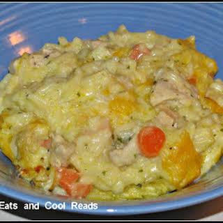 Chicken Rice a Roni Casserole.