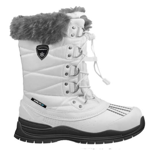 True North Winterboots Warm Junior White Stl: 29