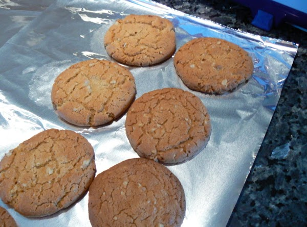 "Preheat oven to 400 degrees. Slice (about 1/2"")and lay on (butter crisco spray) cookie sheet. Bake..."
