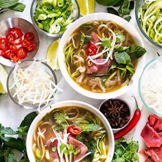 Daikon and Zucchini Noodle Pho (Video!)