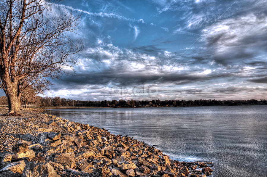 by Dawn Coen - Landscapes Cloud Formations ( springfield, cloud, lake )