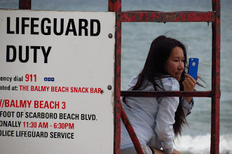 Photo: Not the lifeguard, The Beaches