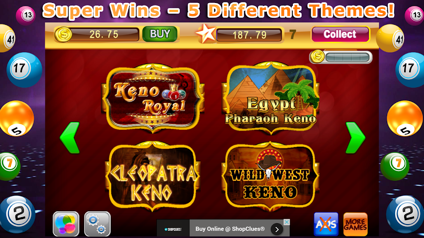 android Keno Blitz– Video Casino Pro Screenshot 1