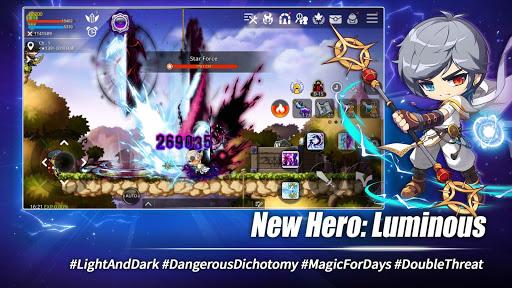 Code Triche MapleStory M - Open World MMORPG APK MOD screenshots 2