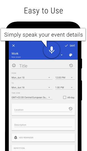 Business Calendar 2・Agenda, Planner & Organizer screenshot 8