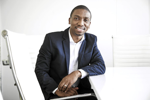 Tshepo Moloi, the founder and CEO of StokFella, an app for stokvels.