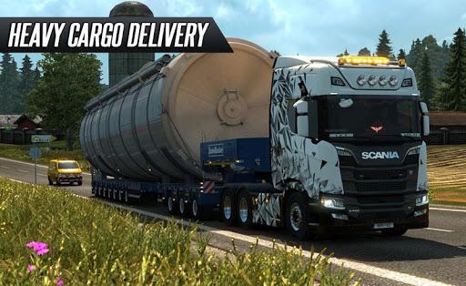 Euro Truck Driving 2018 1.0 screenshots 1