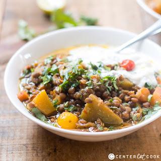 One-Pot Lentil Pumpkin Stew