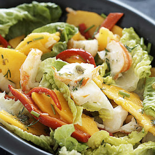 Lobster and Mango Salad.