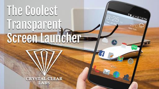 Transparent Screen Launcher