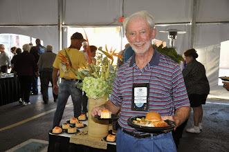 Photo: Dick Wolfe with Dinner
