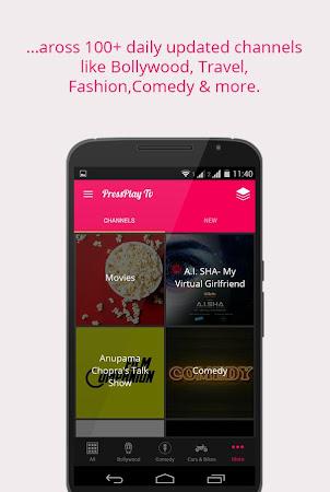 PressPlay TV Movies & Videos 1.0.2 screenshot 821799