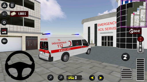 911 Emergency Ambulance Simulation android2mod screenshots 1