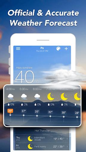 توقعات الطقس والحاجيات والرادار screenshot 2