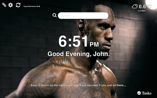 Lebron James Lakers HD Wallpapers New Tab