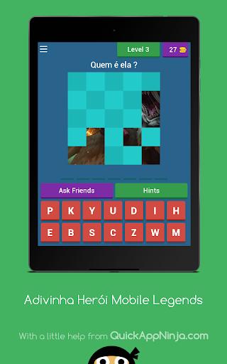 Adivinha Herói Mobile Legends 3.2.7z screenshots 3