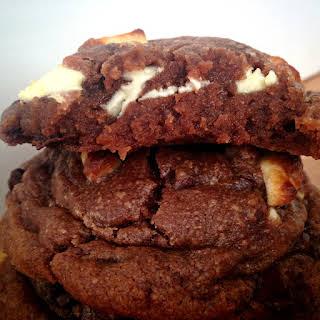 Nutella White Chocolate Chunk Cookies.