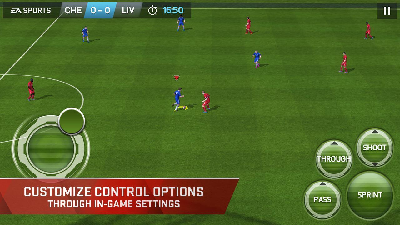 FIFA 15 Soccer Ultimate Team screenshot #2