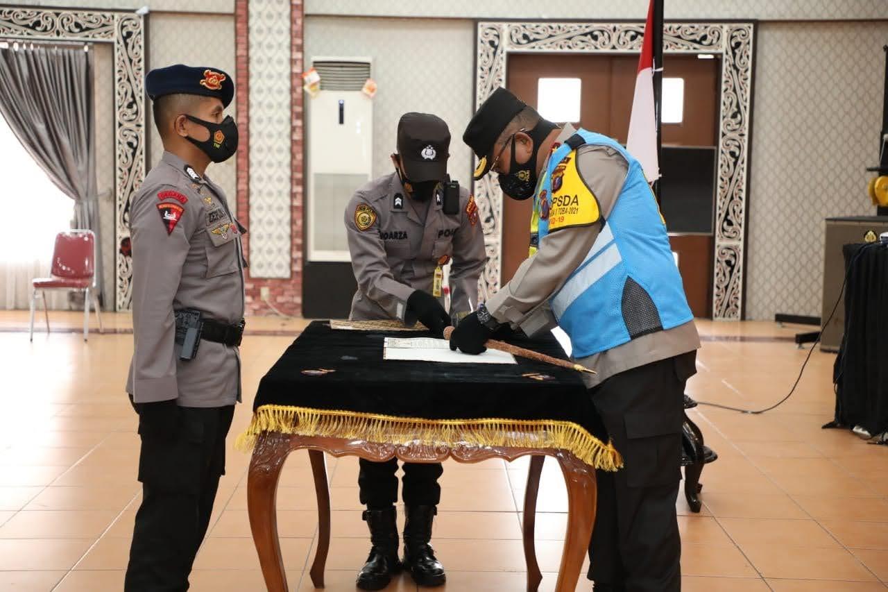 Kapolda Sumut Pimpin Pakta Integritas Seleksi Pendidikan Sekolah Inspektur Polisi Angkatan 50 T.A 2021