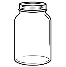 Darice Embossing Folder 4.25X5.75 - Manson Jar