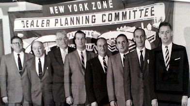 Photo: Mr. Bob Brown with other dealer principles at NY Planning Committee