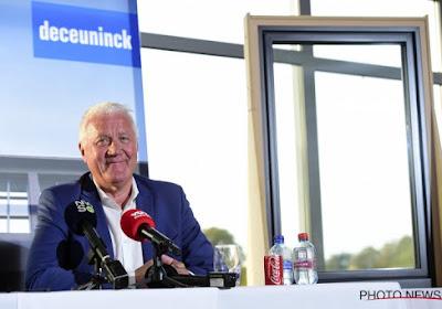 Patrick Lefevere deelt felicitaties uit