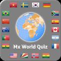 World country quiz 2016 MX icon