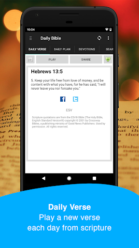 Daily Bible: Audio, Reading Plans, Devos - screenshot