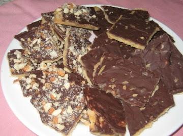 Chocolate Matzo Bark Recipe