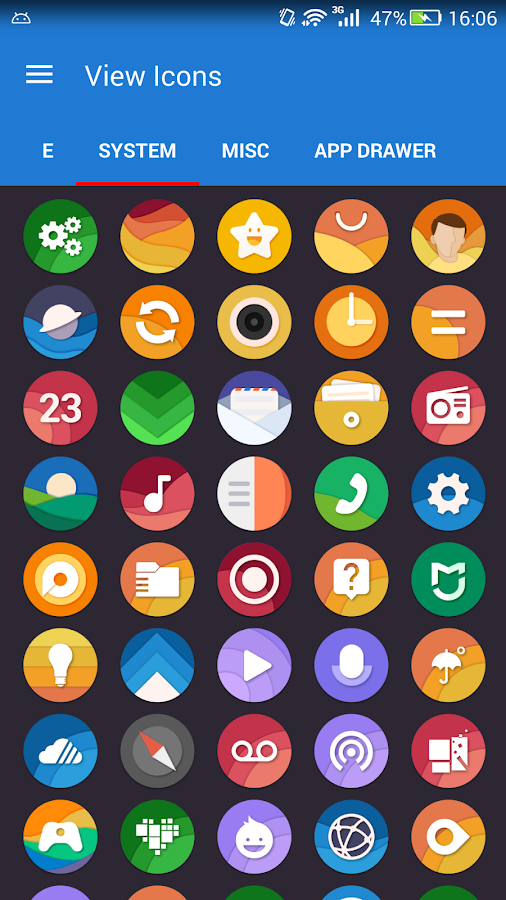 Material Dream - Icon Pack- screenshot