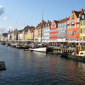 Copenhagen by Franco van Vuuren - City,  Street & Park  Historic Districts ( copenhagen )